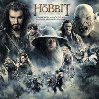 The Hobbit / Motion Picture Trilogy - 2016 Wall Calendar By Day Dream