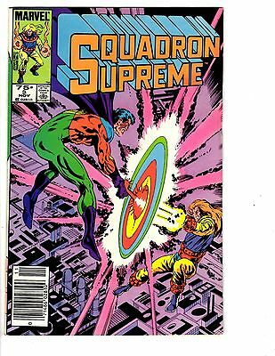 Comics Collectibles Hearty 4 Marvel Comics Squadron Supreme #3 Star Brand #2 Warlock #1 Psi-force #2 Jb3 A Complete Range Of Specifications