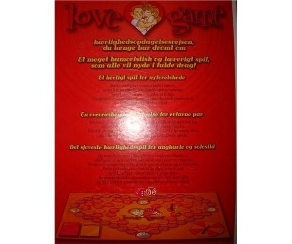 Love Game, brætspil