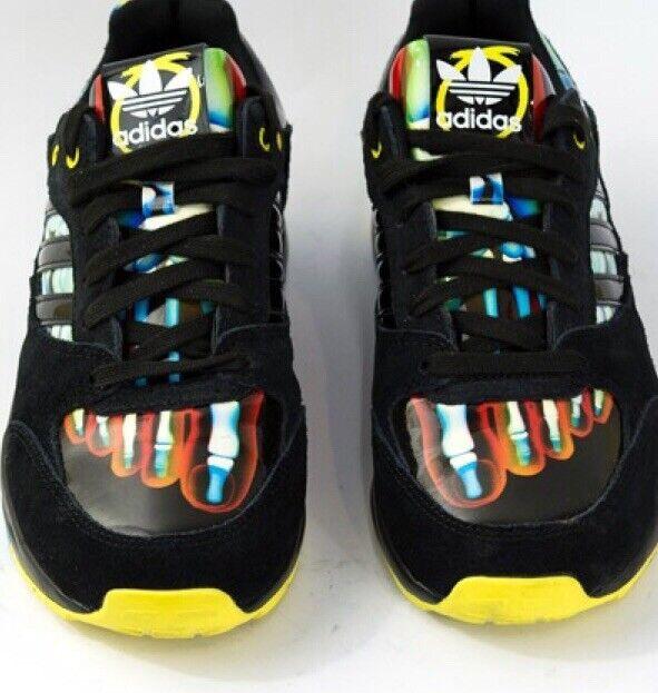 Adidas Originals x Rita Ora Tech Super B26724 US WMN'S S.10 Black Yellow Multi