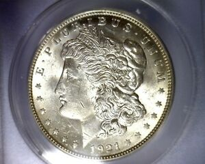 ANACS MS62 1921 HOT 50 VAM 3F4 MORGAN SILVER DOLLAR UNITED STATES COIN R7