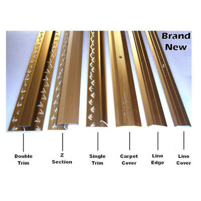 Carpet Strips Door Bars Metal Edgings Single Double Cover