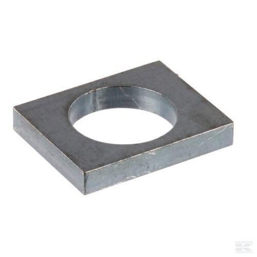 BOLZEN-LASCHE Lasche rechteckig universell für 60mm Bolzen