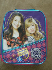 Lot~2~NEW~iCarly Backpack Lunch Snack Toy Bag GIFT School Supplies Supply