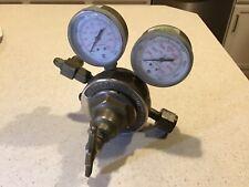 Victor Sr 452 D Hydrogen Methane Gas Regulator 3000psi