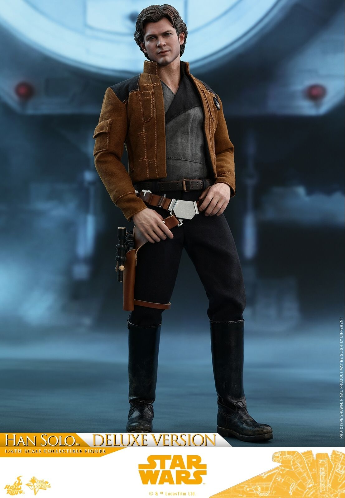 Hot Toys Solo   ein Stern Wars Story 1 6. Han Solo (Deluxe Version) Figur MMS492