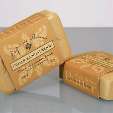 French Soap - Cedar Sandalwood  - by L'epi de Provence - 200 gr. Bar