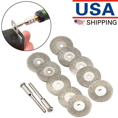 10Pcs For Dremel//Wen Premium Diamond Rotary Saw Blades Carbon steel Rotary Tools