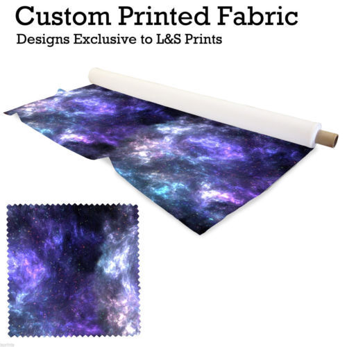 GALAXY 8 DESIGN POLYESTER FABRIC DIGITAL PRINTED SCUBA MATERIAL L/&S PRINTS