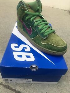 outlet store fa5fe 366d6 Image is loading RARE-NIKE-DUNK-HIGH-PREMIUM-SB-034-SKUNK-