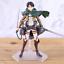 thumbnail 6 - Attack on Titan Action Figure Eren Mikasa Ackerman Levi Rivaille Figma PVC 13CM