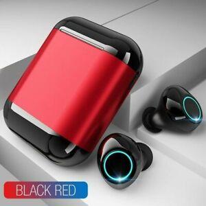 Ecouteur-Bluetooth-5-0-Sans-Fil-Stereo-Casque-Ecouteur-Noir-Gris-Gold