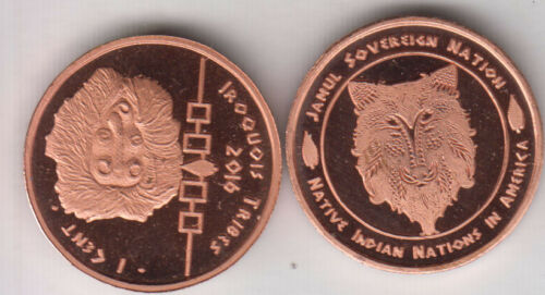 unusual coinage USA Indian Tribe IROQUOIS 1 Cent 2016