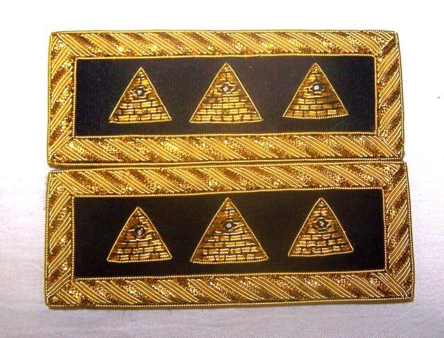 NWO Illuminati Secret Occult Officer Uniform Boards Straps Alien Soldier UFO 666