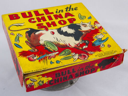 """Bull in the China Shop"" Game by Milton Bradley 1938"
