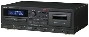 TEAC-AD-850-CD-Cassettes-Tape-Player-USB-Microphone-input
