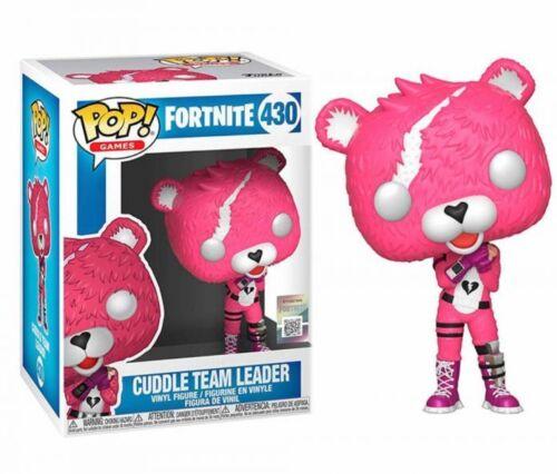 Funko POP ! Vinyl 430 Cuddle Team Leader Fortnite Games NEW! SUBITO DISPONIBILE