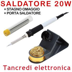 ZD23 20W SALDATORE PROFESSIONALE RESISTENZA IN CERAMICA SALDATURE SOLDERING IRON