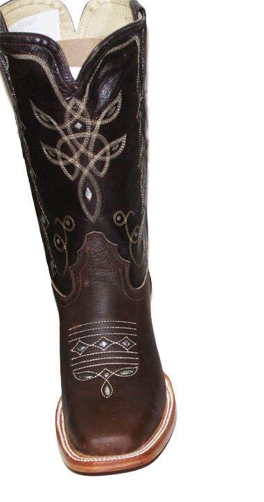 Cowgirl botas de cuero para mujer mujer mujer Corte Lazer Cuero De Vaca  89.99 Lazer corte estilo D05 4da2f6