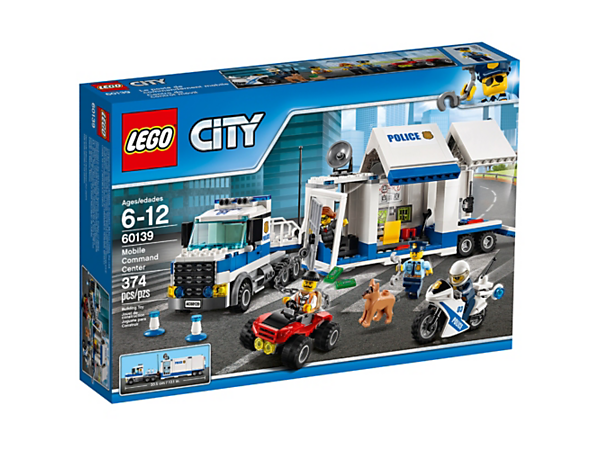 LEGO City 60139 Mobile Command Center 374 Pieces - New & Sealed