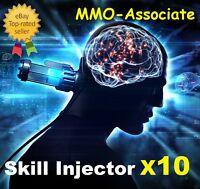 EVE online Large Skill Injector x10 | Worth 7.5 - 8 Billion isk  | PLEX