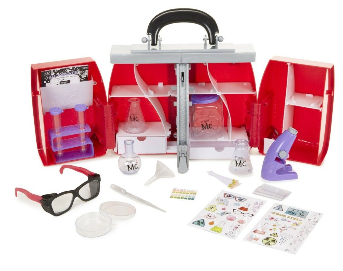 Project Mc2 McKeyla's Ultimate Lab Kit Red Box Science Experiment Research Play