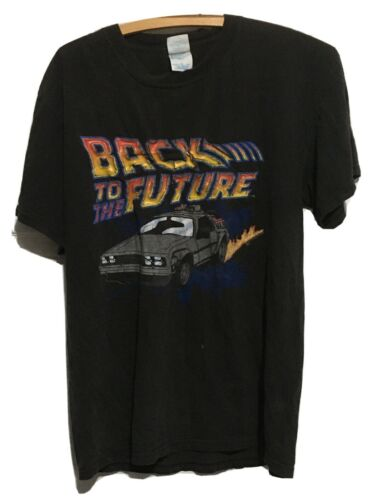 Vintage Back To The Future T Shirt - Flawed