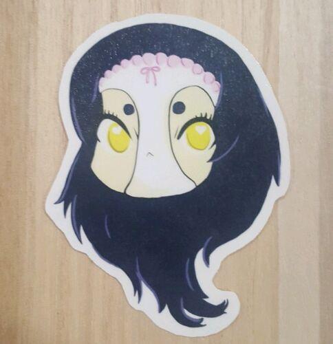 Artist Sticker-Shimoneta Blue Snow Chibi Head Sticker