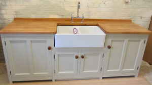 Image Is Loading 2330 X 700 FREESTANDING PINE SINK UNIT Amp