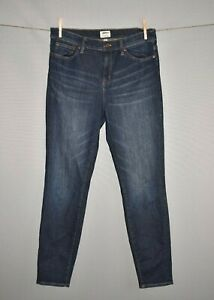 J-CREW-125-Lookout-High-Rise-Skinny-Denim-Jean-in-Sanford-Wash-Size-30
