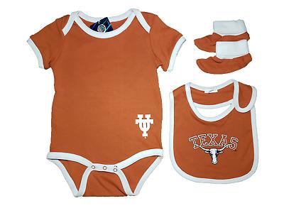 Football Texas Longhorns Texas Girl Baby Short Sleeve Bodysuit
