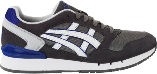 Asics Gel Atlantis Mens Shoes Grey Sneakers Casual Fashion Trainers
