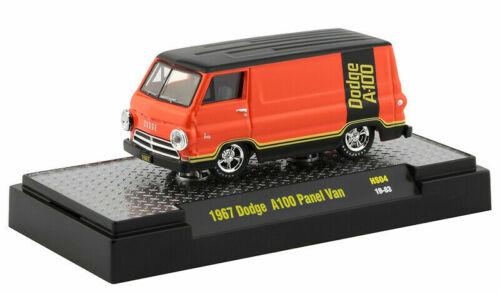 1964 DODGE a-100 Panel Van MANGO *** m2 machines Hobby PROMO 1:64 Nouveau