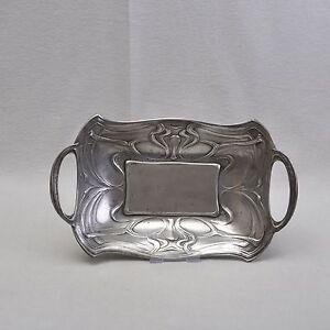 WMF-Stile-liberty-Cestino-Ciotola-37-cm-circa-1900-Art-Nouveau-Banda-de-cor