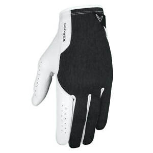 Callaway-Golf-Mens-2019-X-Spann-MLH-Compression-Opti-Fit-Leather-Golf-Gloves