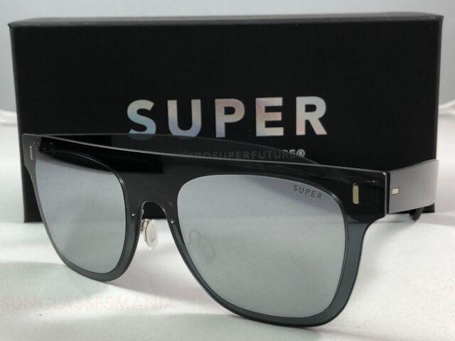 2e38ee344e RetroSuperFuture Duo Lens Flat Top Silver 6F3 Sunglasses SUPER 55mm ...