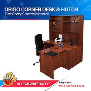 office desks ebay. Image Is Loading Home-Corner-Workstation-Office-Desk-Shelf-Hutch-Study- Office Desks Ebay