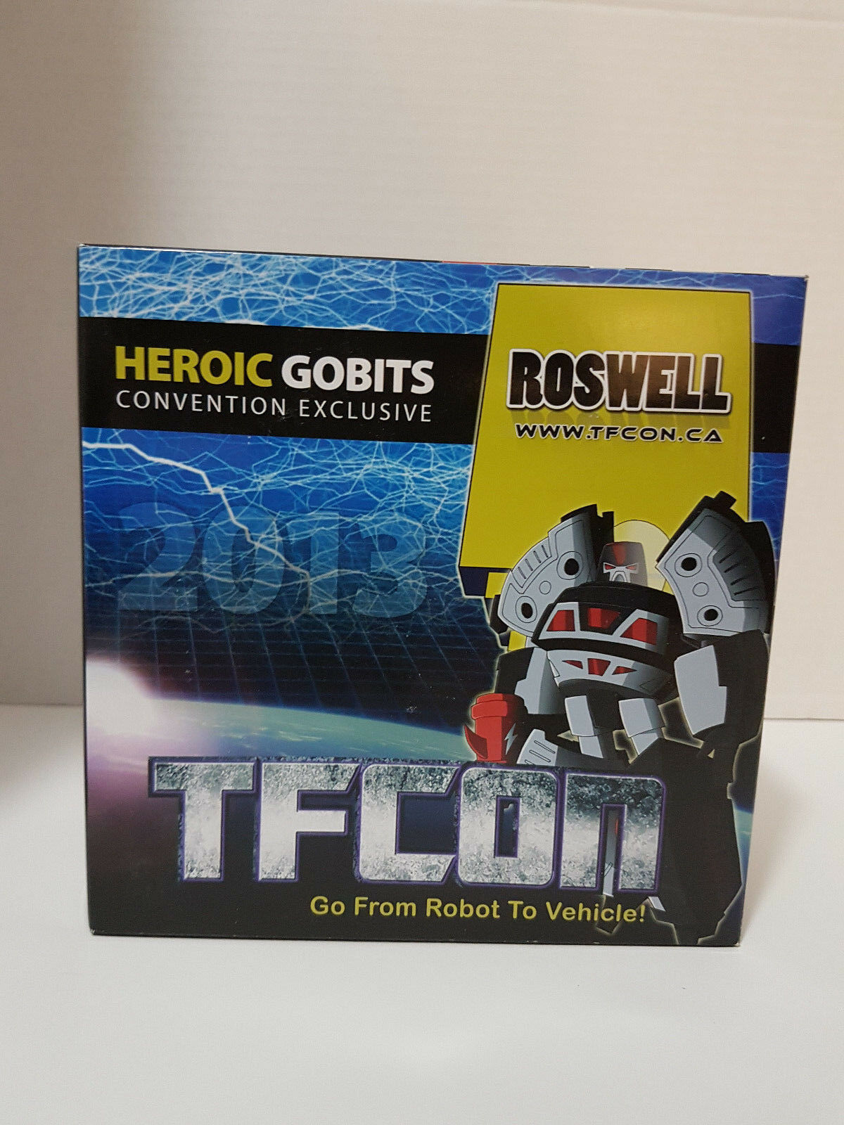 Roswell iGear TFCon 2013 Exclusive 3rd Party Transforming Toy New NIP MISB