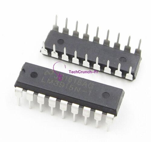 NEW NSC LM3915N LM3915N-1 DIP-18 LED Bar Dot Display Driver IC