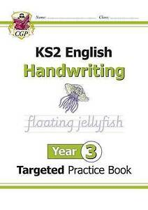 New KS2 English Targeted Practice Book: Handwriting - Year 3 by CGP Books (Paperback, 2016)