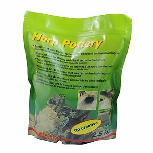 LUCKY-REPTILE-herp-Pottery-2-5kg-tongranulat-TERRARIO-LUCERTOLE-rotazione