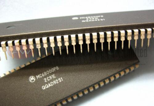NOS Motorola MC68000P8 68000 VINTAGE MPU DIP64 x 1pc