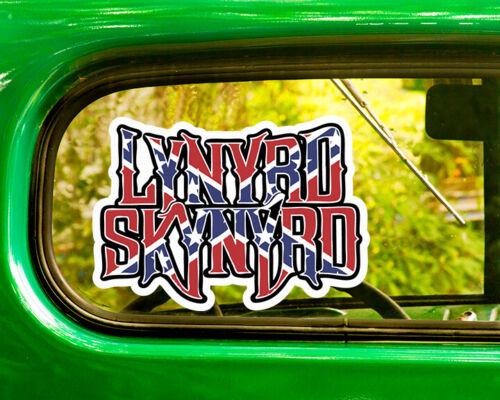 2 LYNYRD SKYNYRD BAND DECALs Sticker Bogo For Car Window Bumper Laptop Rv Jeep