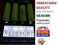 1x Genuine Panasonic Ncr18650b 3.7v 3400mah Real Capacity Battery - Japan/w Case