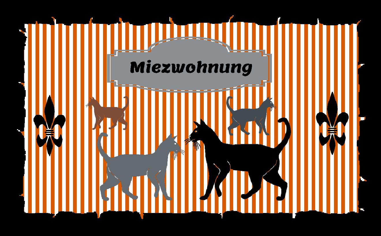 Fußmatte mit Namen Napfunterlage Katzenmatte  120x75 cm  Design 37180392 | Großer Räumungsverkauf