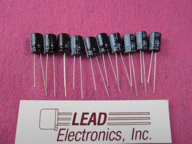100 pcs 330uF 35V 105c Aluminum Electrolytic Capacitor RSL 2222-046-50331