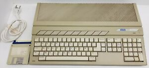 Atari 1040 STF French AZERTY Keyboard French TOS. Tested & Working. Nice, Disks