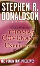 The First Chronicles Thomas Covenant the Unbeliever: The Power That Preserves 3 by Stephen R. Donaldson (1987, Paperback)
