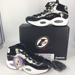 innovative design 3fa5d 17848 Image is loading Reebok-X-BAIT-Question-Mid-Snake-2-0-