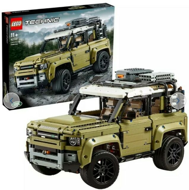 LEGO Technic Land Rover Defender Collector's Model Car - 42110 - box opened Y477